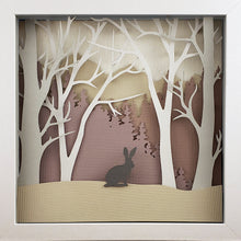 Load image into Gallery viewer, Into the Woods (Purple) - Rabbit - The PaperClips Company