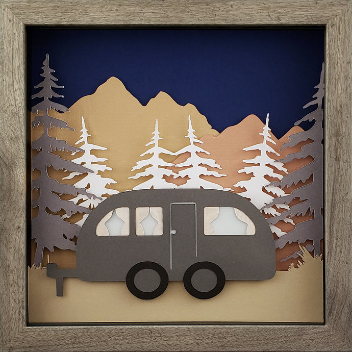 Gone Camping - Vintage - The PaperClips Company