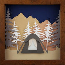 Load image into Gallery viewer, Gone Camping - Tent - The PaperClips Company