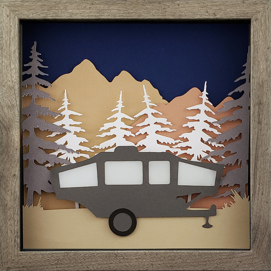 Gone Camping - Pop Up - The PaperClips Company