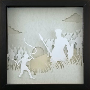 Biblical Heroes - David & Goliath - The PaperClips Company