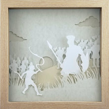 Load image into Gallery viewer, Biblical Heroes - David & Goliath - The PaperClips Company
