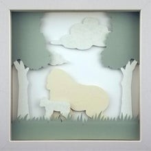 Load image into Gallery viewer, Love of a Parent (White) - A Gorilla & Her Infant - The PaperClips Company