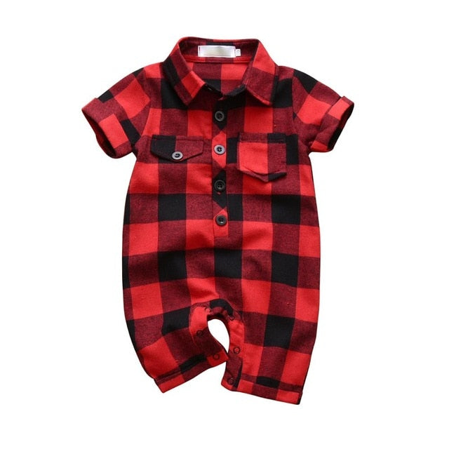 Plaid Lumberjack Bodysuit