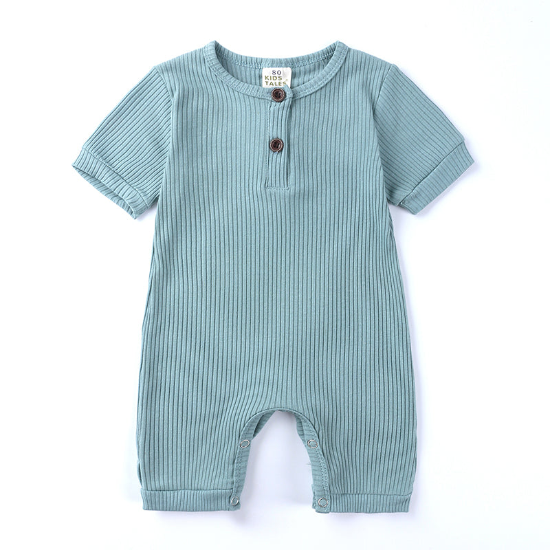 Mint Ribbed Short Sleeve