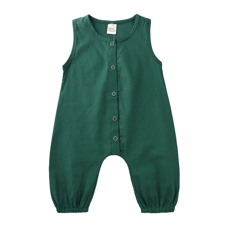 Green Overall Bodysuit