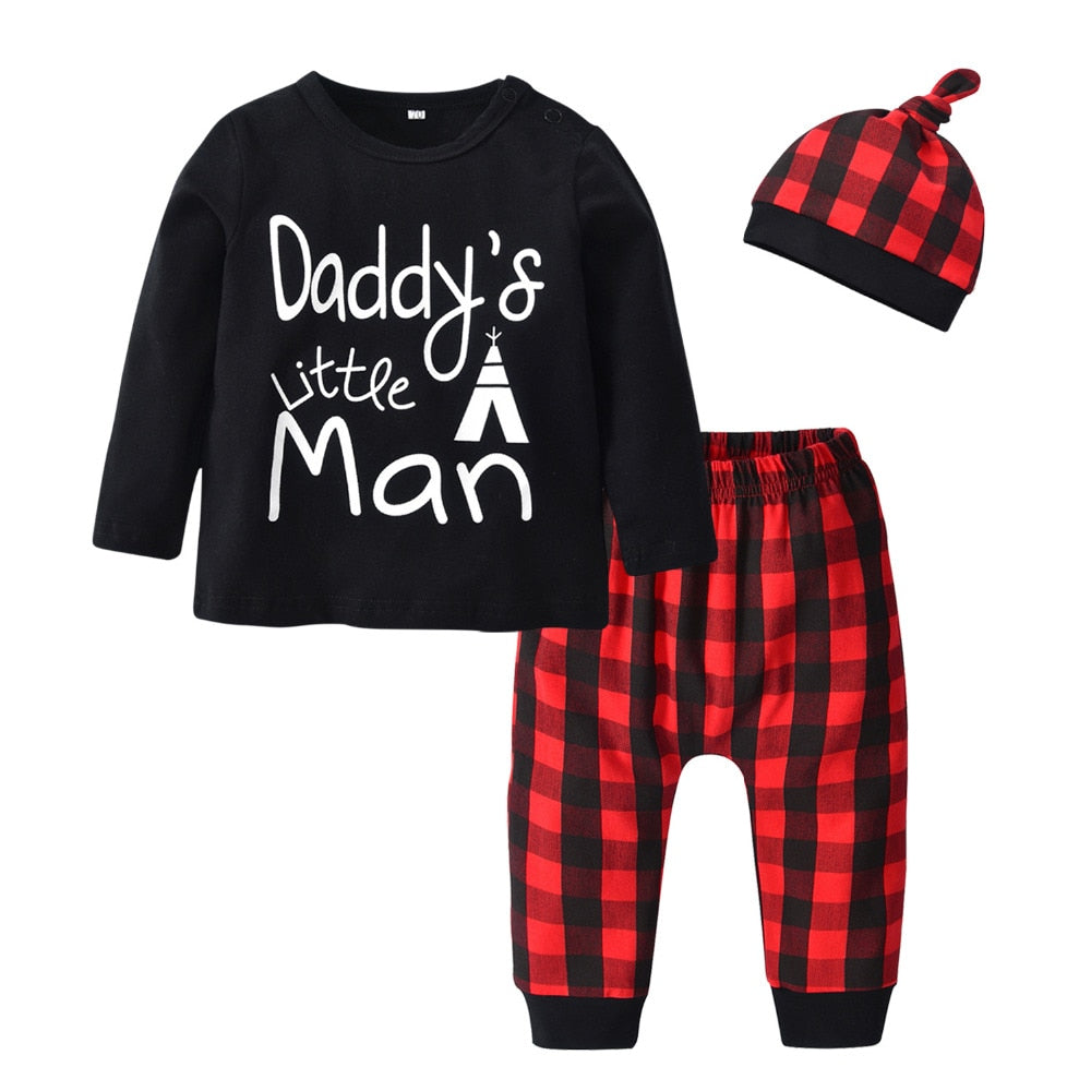 Daddy's Little Man 3 Piece