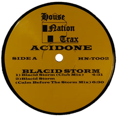 "Acidone ""Blacid Storm"" 12"""