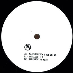 "Aphex Twin ""MARCHROMT30a Edit 2b 96"" 12"""