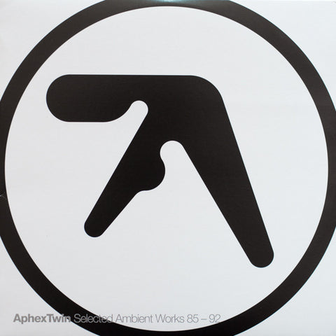 "Aphex Twin ""Selected Ambient Works 85-92"" 2xLP"
