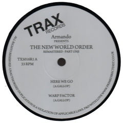 "Armando ""The New World Order"" 12"""