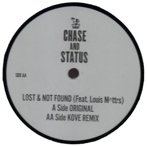 "Chase And Status ""Lost Not Found"" 12"""