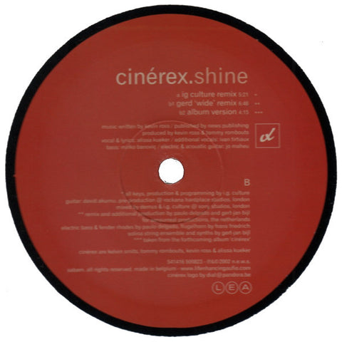 "Cinerex ""Shine"" 12"""