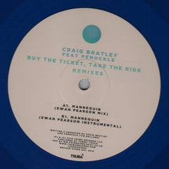 "Craig Bratley featuring Penuckle ""Buy The Ticket, Take The Ride Remixes"" 10"""