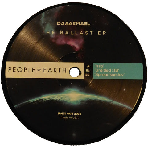 "DJ Aakmael ""The Ballast EP"" 12"""
