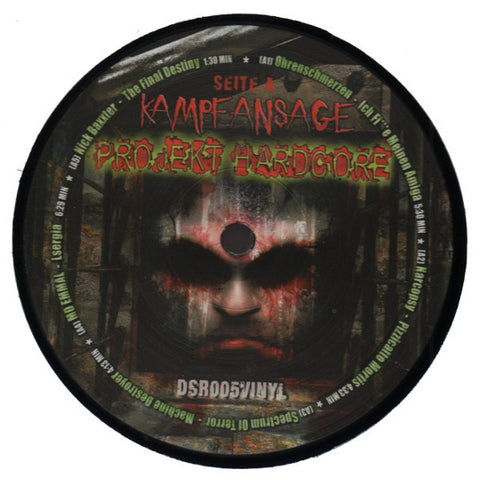"Various Artists ""Kampfansage Projekt Hardcore"" 12"""