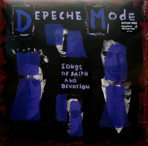 "Depeche Mode ""Songs Of Faith And Devotion"" LP"