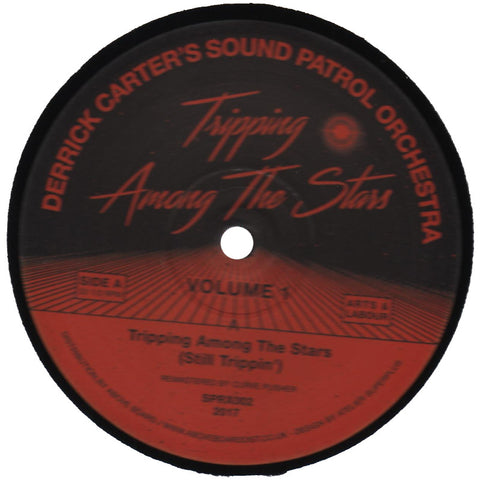 "Derrick Carter's Sound Patrol Orchestra ""Tripping Among The Stars (Volume 1)"" 12"""