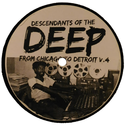 "Various Artists ""From Chicago To Detroit V.4"" 12"""