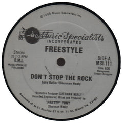 "Freestyle ""Don't Stop The Rock"" 12"""