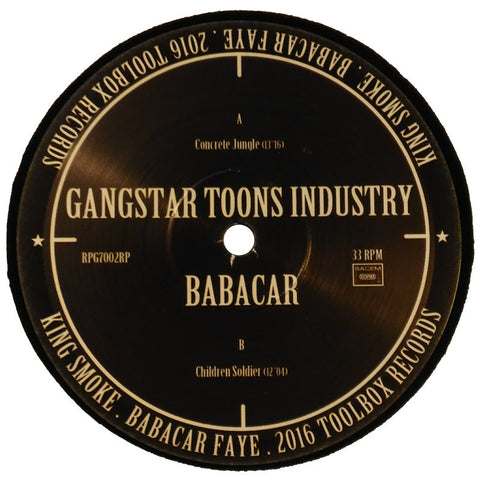 "Gangstar Toons Industry + Babacar ""Concrete Jungle"" 12"""