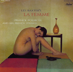"Les Baxter, Franck Pourcel And His French Strings ""La Femme"" LP"