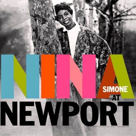 "Nina Simone ""Nina At Newport"" LP"