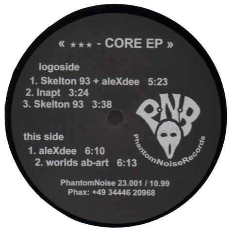 "Various Artists ""Core EP 1"" 12"""