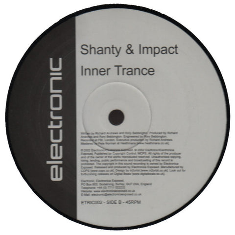 "Shanty & Impact ""Time's Trouble"" 12"""
