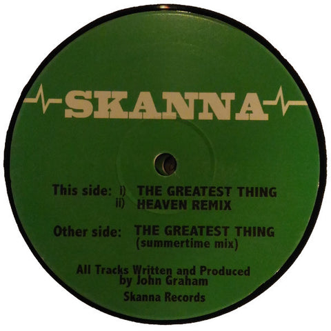"Skanna ""The Greatest Thing (Reissue)"" 12"""
