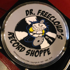 "Dr. Freecloud's Record Shoppe ""Mad Doctor"" Slipmat"