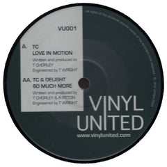 "TC & Delight ""Love In Motion"" 12"""