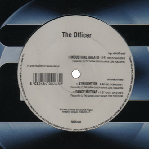 "The Officer ""Industrial Area III"" 12"""