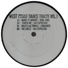 "Various Artists ""West Coast Dance Traxx Volume 1"" 12"""