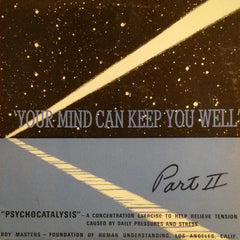 "Roy Masters ""Your Mind Can Keep You Well Part 2"" LP"