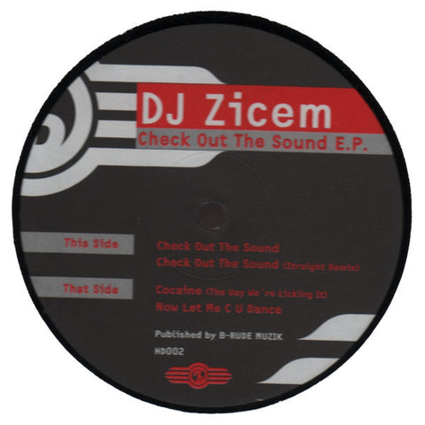 "DJ Zicem ""Check Out The Sound E.P."" 12"""