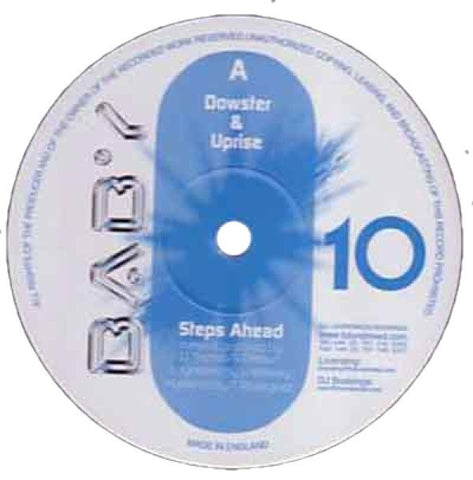 "Dowster & Uprise ""Steps Ahead"" 12"""