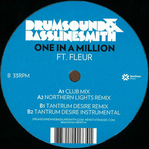 "Drumsound & Basslinesmith ""One in a Million ft. Fleur"" 12"""