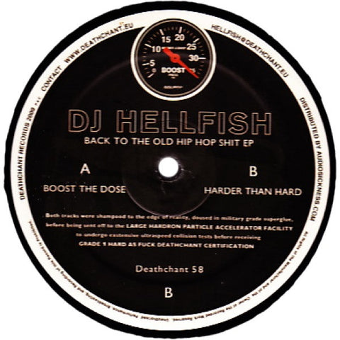 "DJ Hellfish ""Back To The Old Hip Hop Shit EP"" 12"""