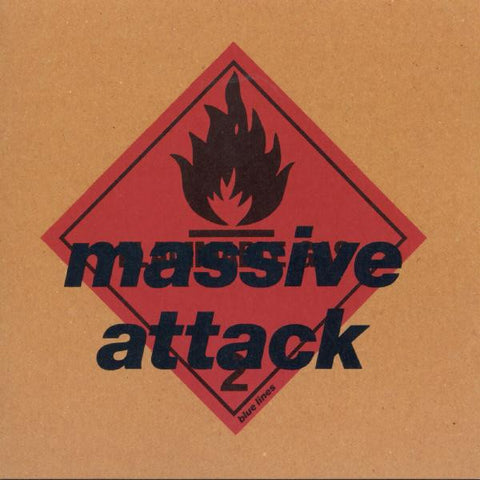 "Massive Attack ""Blue Lines"" LP"