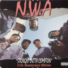 "N.W.A. ""Straight Outta Compton 20th Anniversary Edition"" 2xLP"