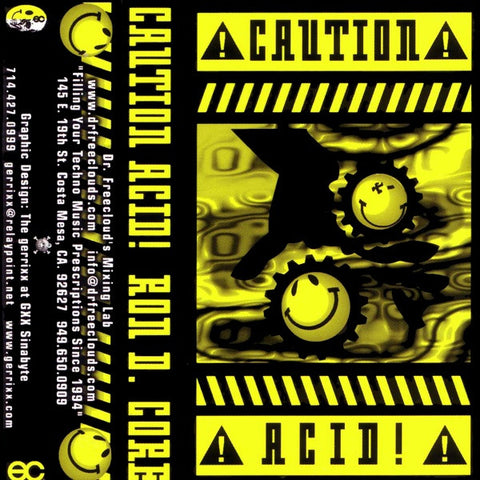"Ron D Core ""Caution Acid"" Mixtape"