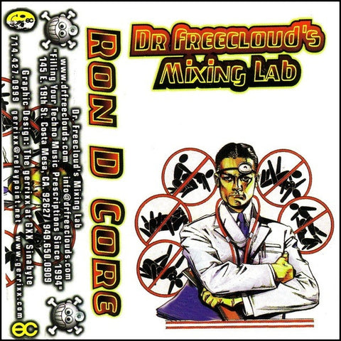 "Ron D Core ""Dr. Freecloud's Mixing Lab"" Mixtape"