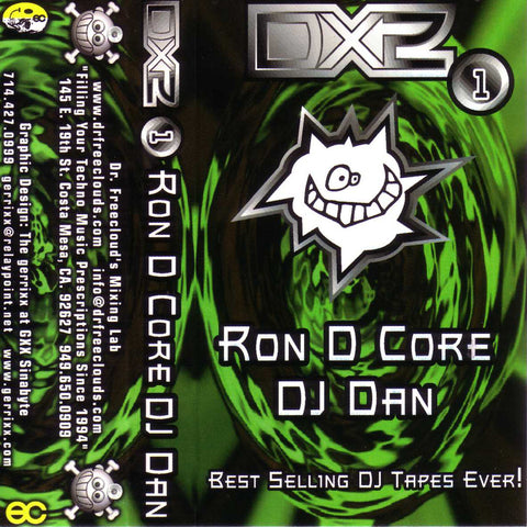 "Ron D Core vs DJ Dan ""DX2 Vol. 1"" Mixtape"