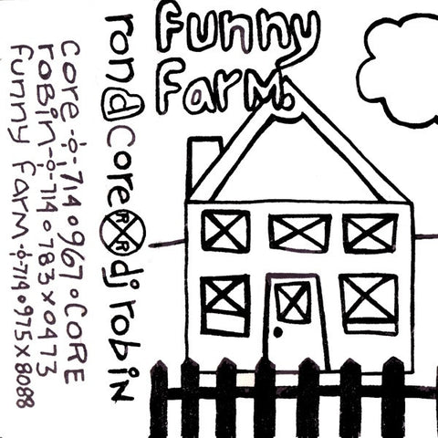 "Ron D Core vs DJ Robin ""Funny Farm 1"" Mixtape"