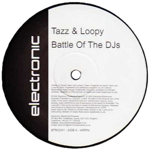 "Tazz & Loopy & Penguin Conspiracy ""Battle Of The DJs"" 12"""