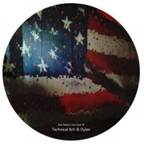 "Technical Itch & Dylan ‎""One Nation Over God EP""  12"""