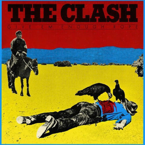 "The Clash ""Give Em Enough Rope"" LP"