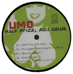 "Umo ""Half Price, Full Value"" 12"""
