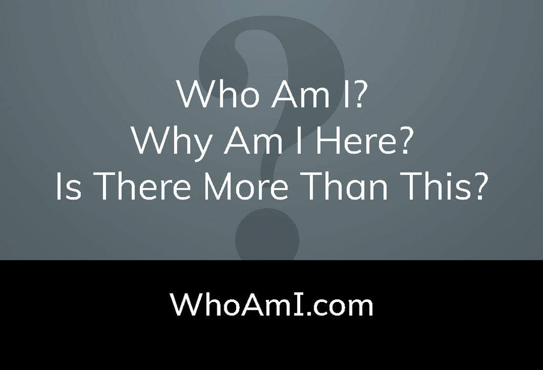 Who Am I? Business Cards (Package of 25)